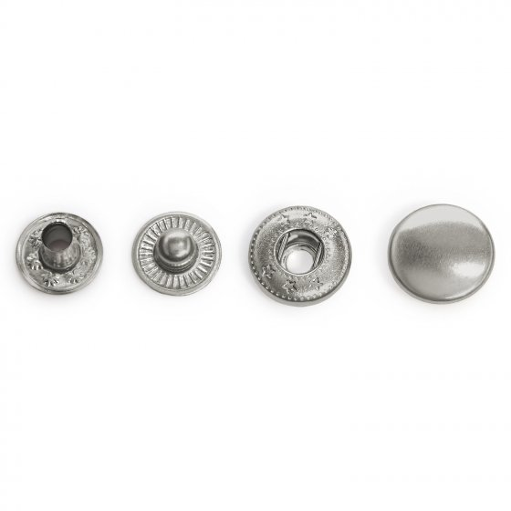 DOMES 12.5MM CAP NICKLE