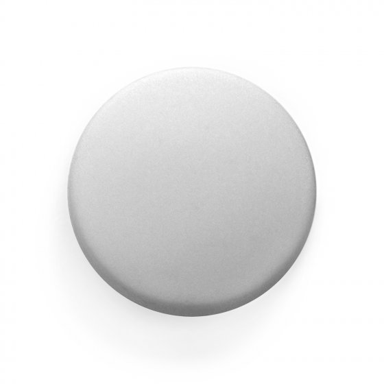 DOMES 15MM CAP S/A WHT DYEABLE